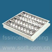 T8 Recessed grille lamp,4*18w