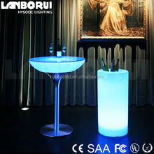 high quality rental event furniture LED wedding party table light table