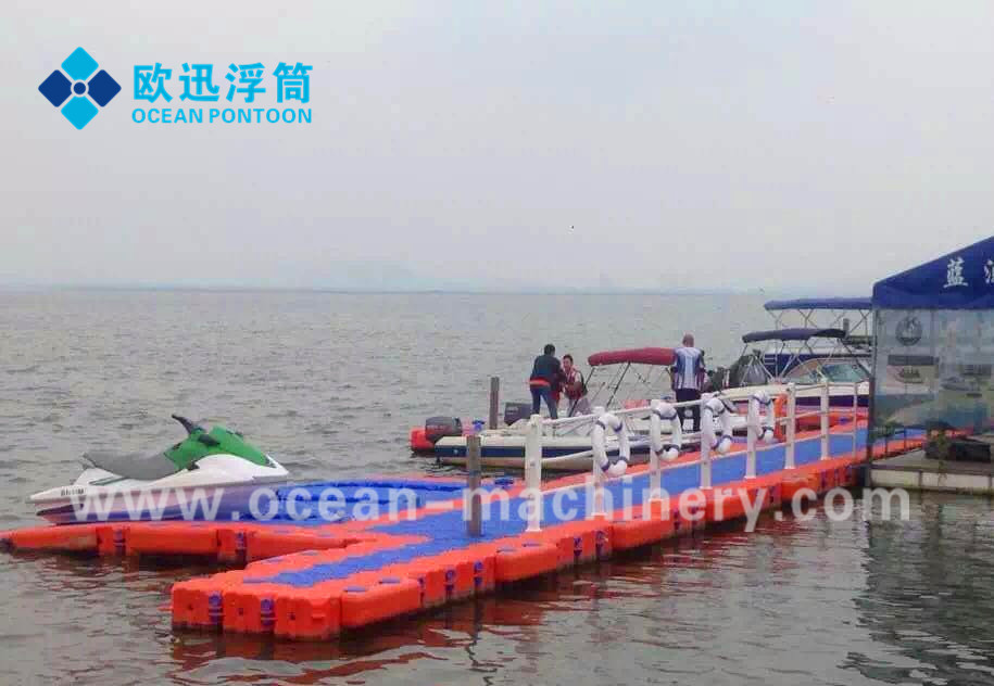 Dongguan Beinuo floating dock plastic pontoon cubes Customized