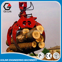 26t excavator hydraulic grapple for logs stone grab