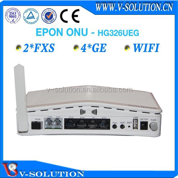 4GE+2POSTS WIFI GEPON ONT/onu optical network unit
