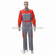 T/C 65/35 grey workwear Coverall