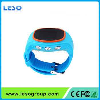 Upgraded Touch Screen Kids GPS Smart Watch S866 for Android OS and IOS Position Tracking Watch