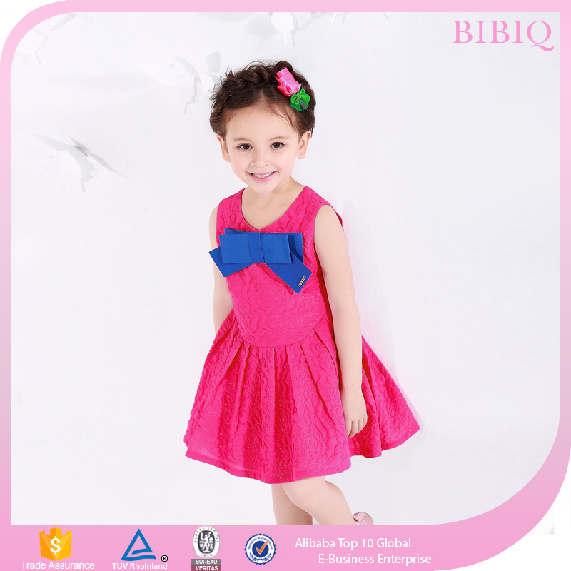 Summer Children Frocks Girls Design Party Dress