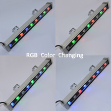 LED Linear Bar Light Wall Washer Warm White RGB Color Stage Lighting Aluminum Alloy IP65 Waterproof LED wall washer light