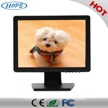 1024x768resolution 17 Inch USB resistance Touch Screen Monitor, 17inch touch screen display, 17inch Medical touch screen monitor