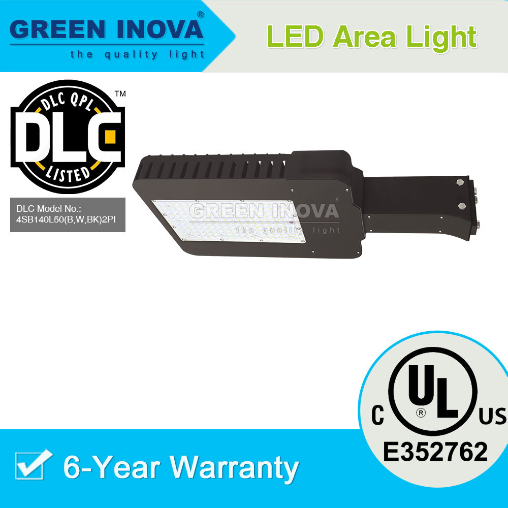 UL cUL (E352762) DLC Premium listed LED parking lot fixture 300w