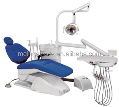Hot Selling Cozy comfortable high grade dental equipment / Noiseless DC motor dental chair price / progressive dental unit DC22