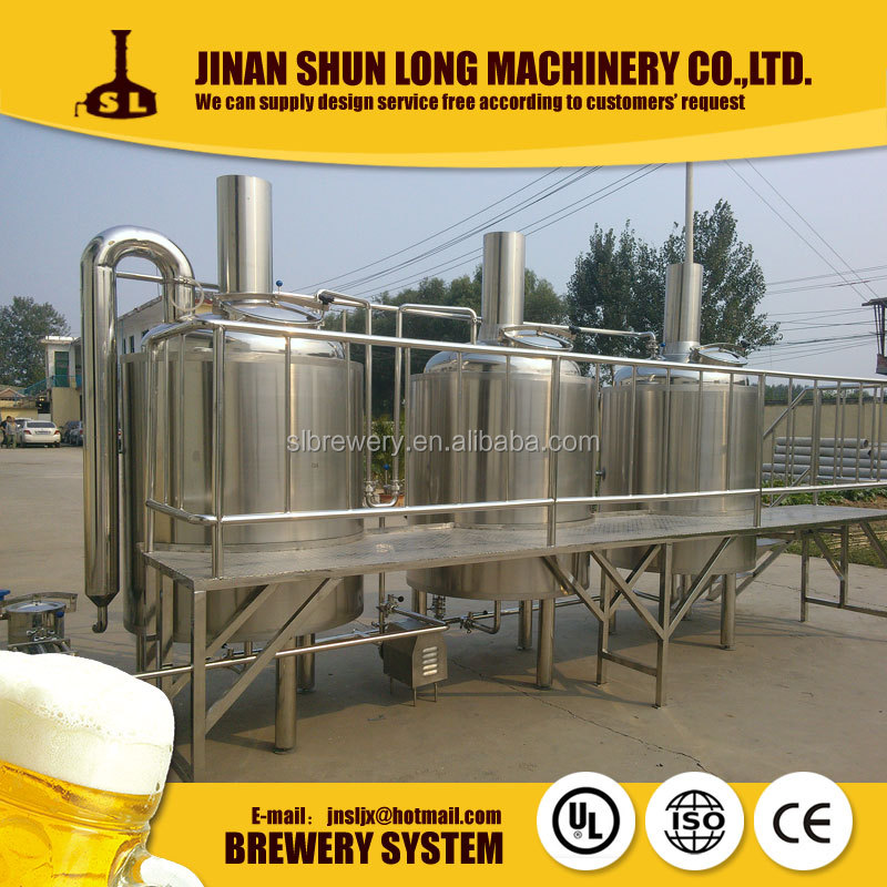 Micro brewing equipment hotel beer making maching for sale