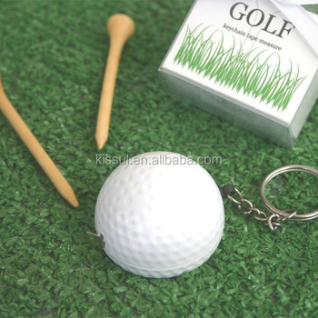 Perfect Wedding and Party Favor Leisurely Game of Love Golf Ball Tape Measure Favors For Sports Wedding
