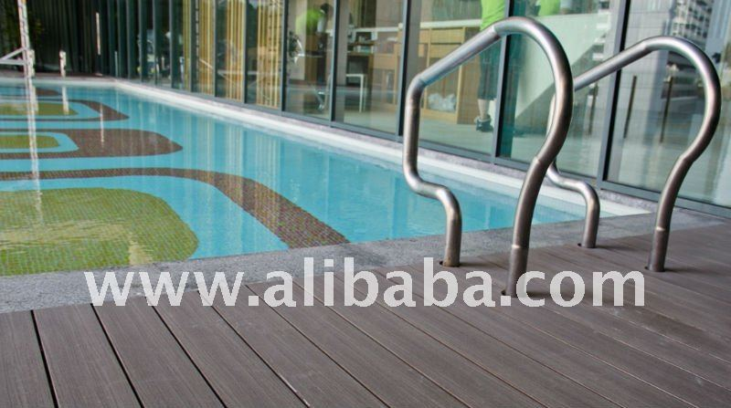 Wood look Swimming Pool Decking
