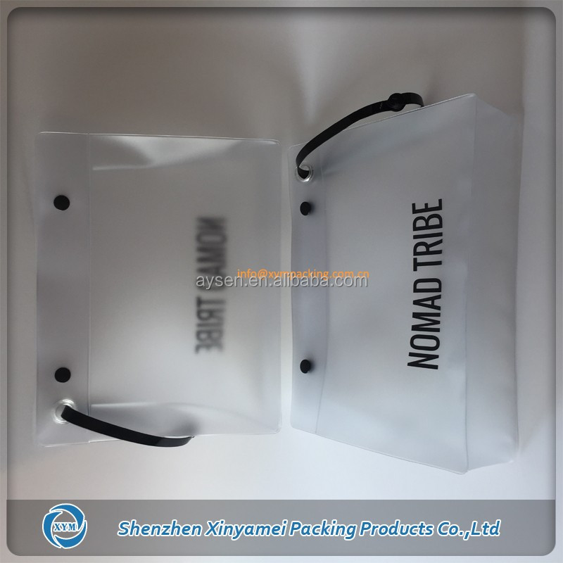 clear transparent zip lock bag eva plastic poly garment clothes apparel packaging