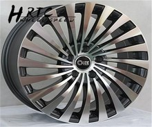 2015 new design 17inch 18inch 20 inch spoke wheel chrome rim with 4h or 5 h