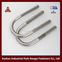 China Supplier Stainless Steel U-Shaped Bolts Metric Standard