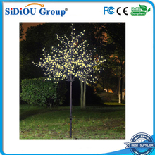 solar outdoor led twig tree lighted