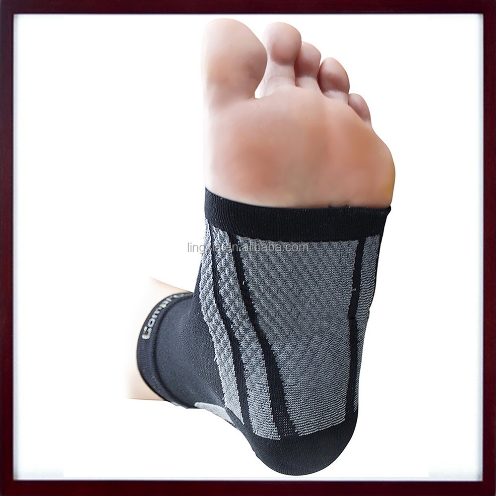 2016 New Trendy Products Sport Compression Ankle Sleeve, Lightweight Ankle Brace Ankle Support For Plantar Fasciitis