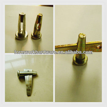 Aluminum formwork system accessories Stup pin / Al pin/ Wedge