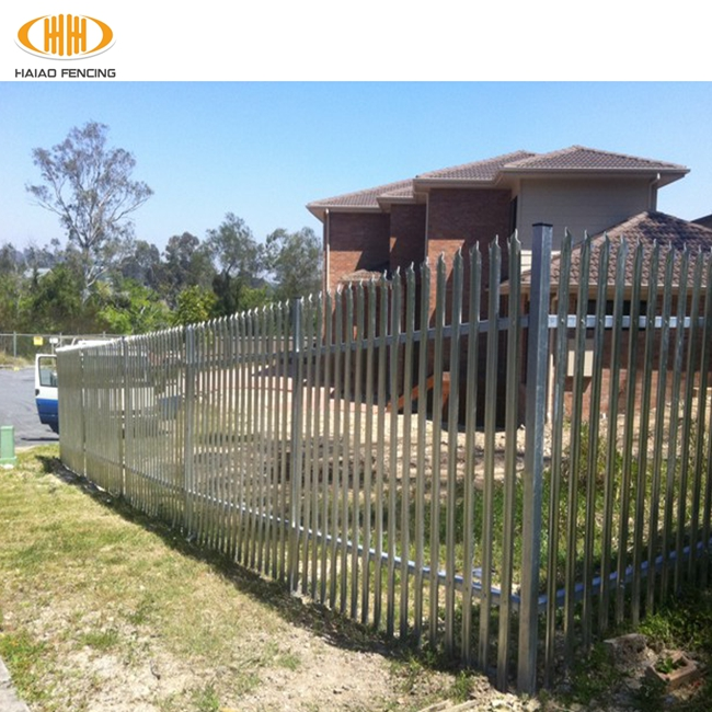 low price high quality china supply used palisade fences on sale,anti-intruder palisade fence,palisade fence made in china