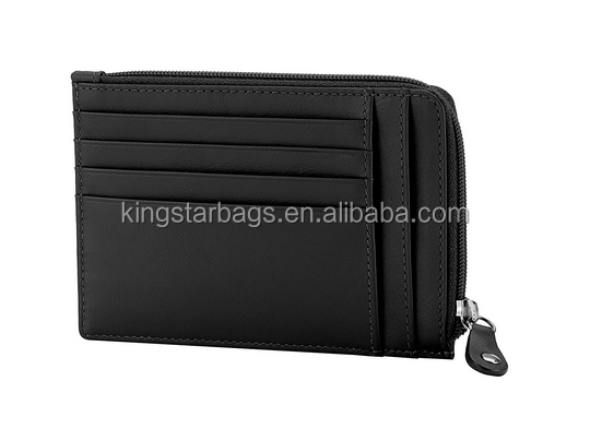 Black Card Holder Coin Pouch