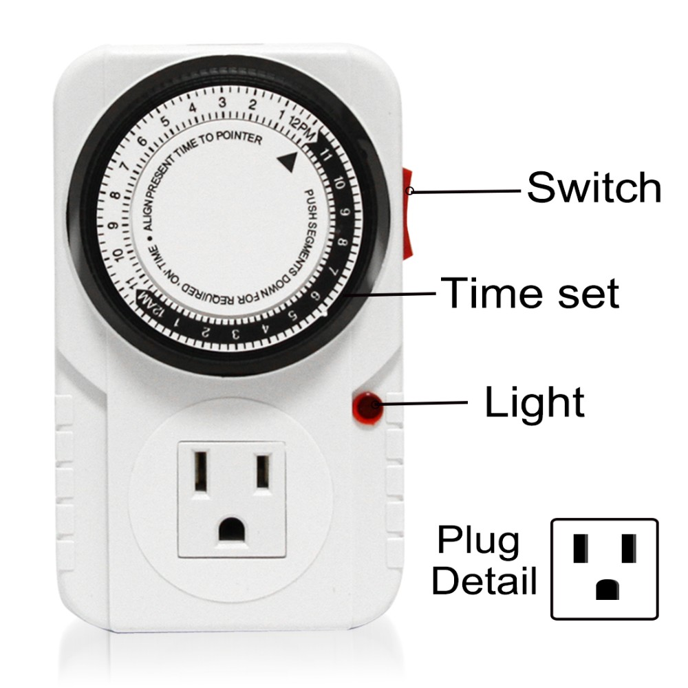 Honest Manufacturer SINOWELL 24 Hour Mechanical Timer