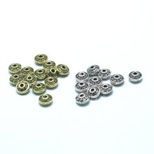 Alloy Coppery And Silver Color Metal Button Jewelry Accessories Wholesale