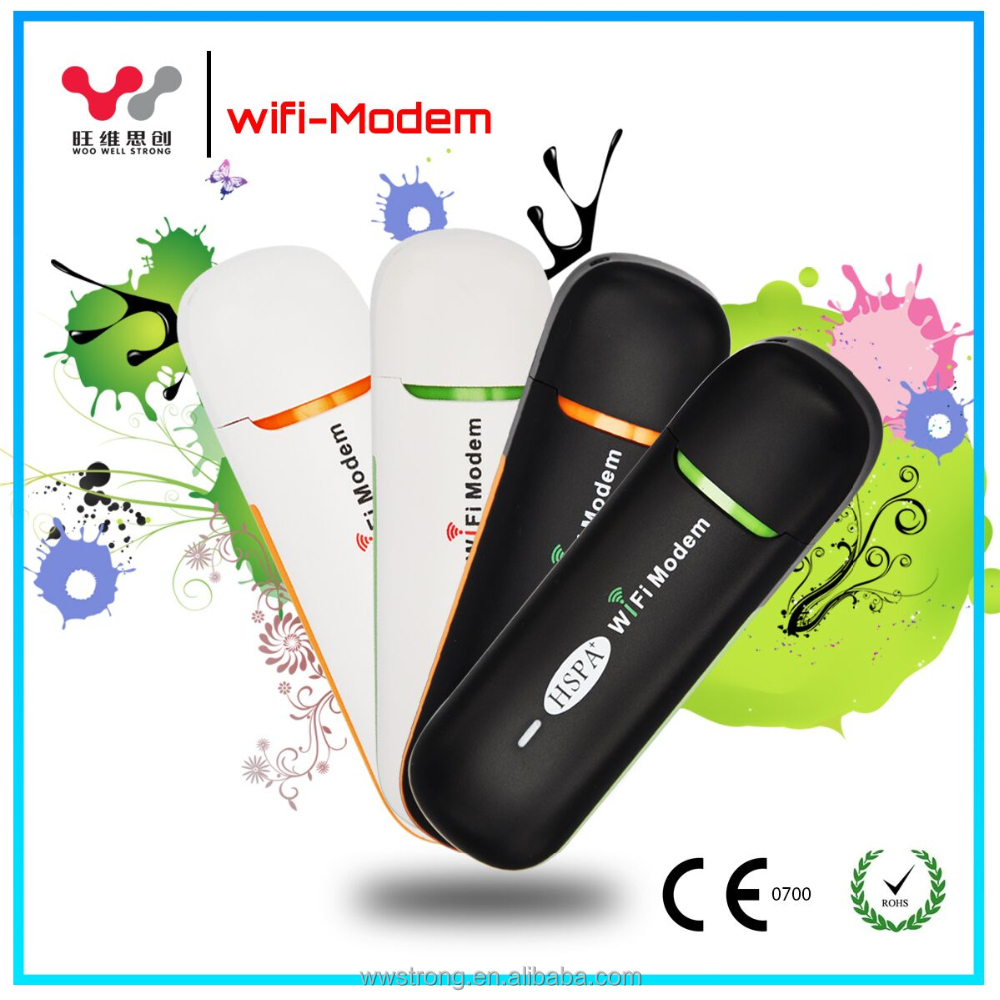 Mobile wifi modem sim card mini wifi hotspot modem for internet device