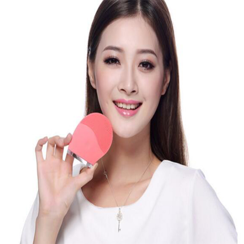 Hot facial cleaner machine massage vibrator facial blackhead removal machine