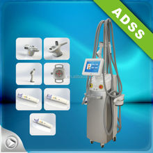RF radiofrequence infrared vacuum bipolar Massage+Vacuum+bipolar rf Multifunctional Cellulite Reduce Equipment