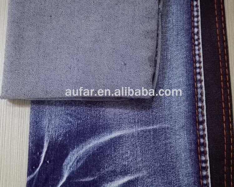 manufactural woven cotton denim fabric polyester microfiber bedding fabric dyed cotton fabric for men or women