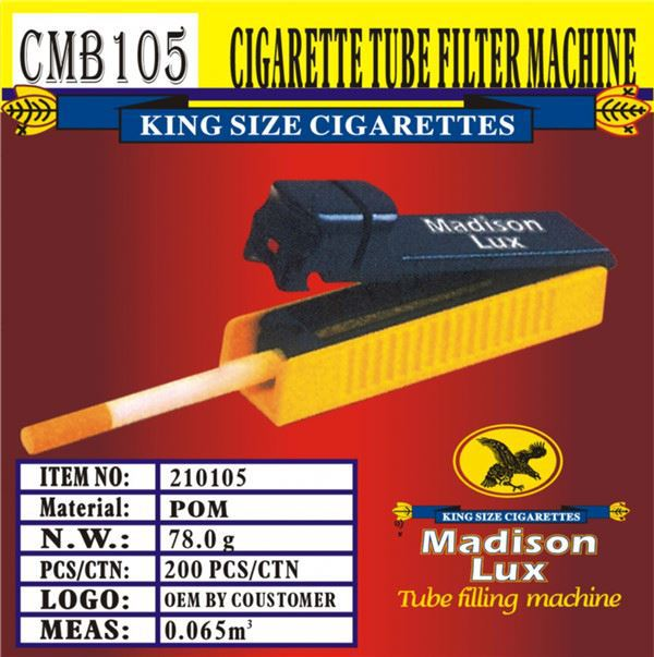 Best selling different types industrial electric cigarette rolling machine with workable price