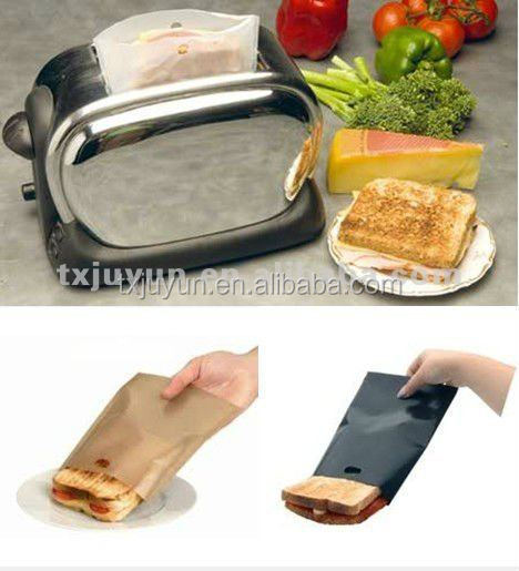 Reusable Toast Toaster Bags No Non Stick Oven Grill Panini Pizza Sandwich Bag