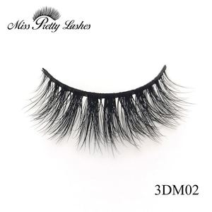Natural Looking 3D Pure Mink Fur Eye Lashes