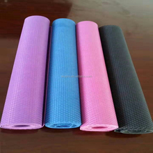 Soft PVC Natural Rubber Custom Yoga Mat Comfortable Anti Slip Sport Mat Low Dot Rubber Gym Mat