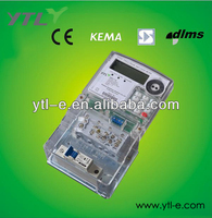 Single phase STS prepaid energy meter with keypad
