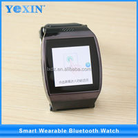 "yi wu stock Touch screen android smart watch , 1.54"" stainless steel smart bluetooth watch"
