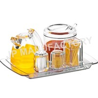 All Purpose Acrylic Table Condiment Holder