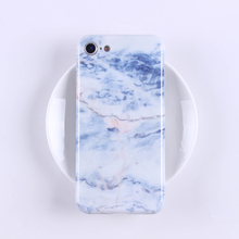 Real marble stone phone case wholesale shell phone accessories mobile case cover for iPhone 8