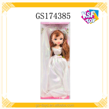 wholesale cheap china 9.5 inch mini plastic wedding lovely baby doll for girls
