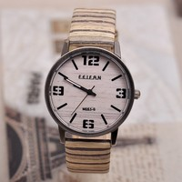 Vogue Men Leather Wristwatch, Fashion Wood Watch,High Quality Dress Table