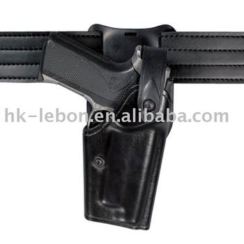 Leather gun holder