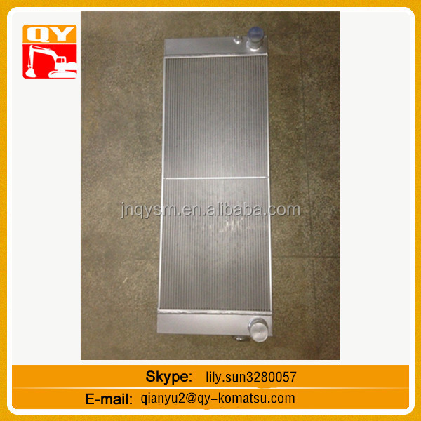 JY230E excavator aluminium plate bar intercooler air water Intercooler