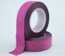 First quality glitter adhesive tape