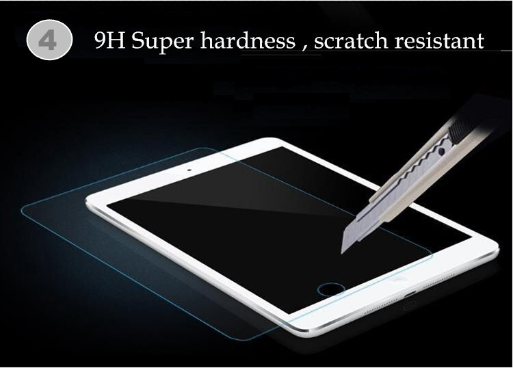 Premium Anti-shattered 2.5D Arc HD Tempered Glass Screen Protector for Ipad Mini1/2/3