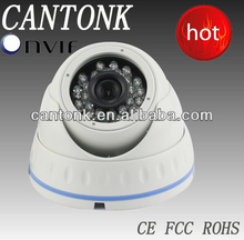 1080p night vision dome 2.4 megapixel ip camera with 3 megapixel HD Lens