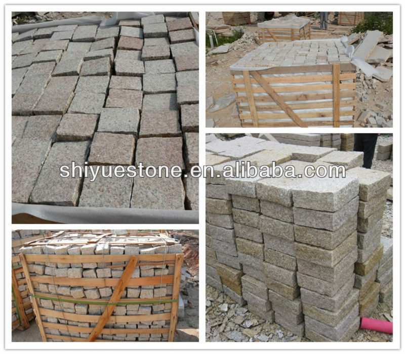 Yellow Stone G682 Granite Setts