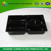 Wholesale disposable clear disposable lunch tray