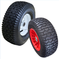 beach cart wheel inflatable pneumatic air rubber tire 13x5.00-6 wheels with metal rim or plastic rim