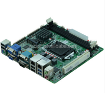Haswell /H81 LGA1150 Intel Core i3/i5/i7 Pentium CPU Mini Itx motherboard for AIO Mini PC OEM