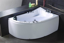 Hot Selling Jet Massage Whirlpool Bathtub with Small sitting