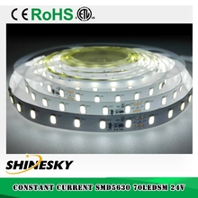 LM561B samung smd 5630 70LEDs/m 24V constant current led strip